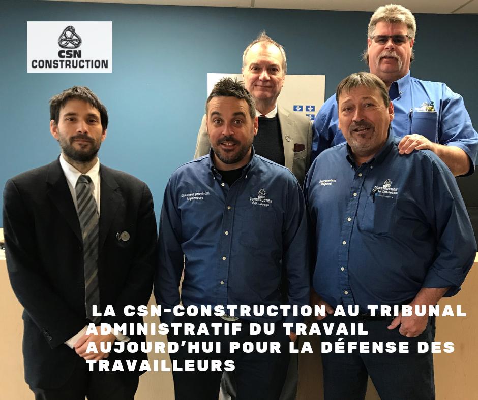 Travail ferroviaire : La CSN-Construction veille à la défense des travailleurs des chemins de fer